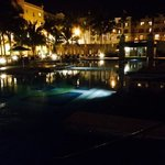 Picture of pool at night