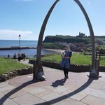 Whale arch at north cliff
