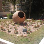 Vli-la Romana garden