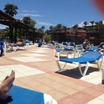 Loads of empty sunbeds every day