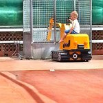 Happy chappy on the digger ride