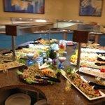 Main dining room - salad station