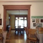 Breakfast room and dining room