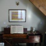 Detalhe da sala de estar do quarto