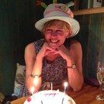 Enjoying a Cake to Remember