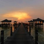 Sunset from the jetty