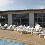 Bains de soleil à disposition aux piscines