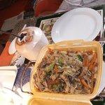 So schön sieht ein Gericht á la MArtin´s  -to-go-food aus !