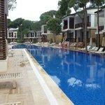 Veel zwembaden bij dit hotel