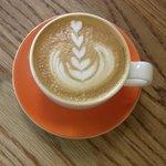 Beautiful latte