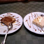 Flanes de chocolate y maracuyá