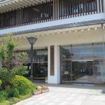 常総市地域交流センター(豊田城) 入口