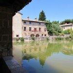 Cistern in Bagno Vignoni