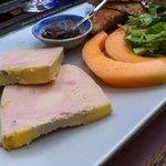 foie gras mi-cuit a la carte
