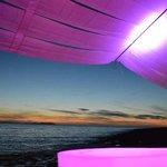 Sunset from Mint Bar ibiza