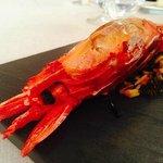 #5 steamed red prawn