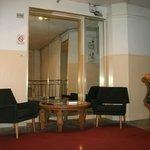 hall devant réception