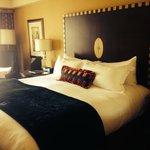 Clean rooms, super comfy bed.