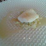 Le 1er poisson et sa délicieuse sauce au champagne
