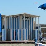 playa de ostia con 40°