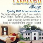 Bed and breakfast rooms or self catering cottages