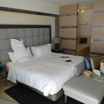 Large room and bed