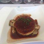 Moelleux au foie gras