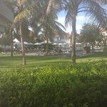 uitzicht vanuit onze villa