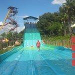 random water slide