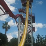 The tallest slide in Euope