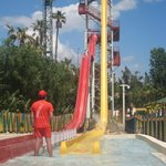 another view of the tallest slide in europe