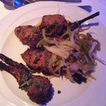 Lamb chops (ordered as a main on this visit)