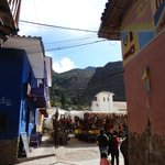 Mercado de rua de Pisac