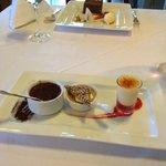 fabulous dessert-triple creme brulee