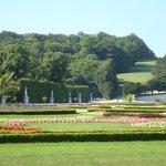 Jardins no entorno do Palácio
