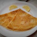 Lemon and sugar crepe
