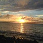 Sunrise from boardwalk