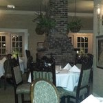 One of the inside dining areas