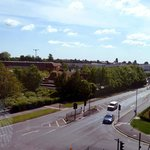 View from the 3rd Floor Corridor to Retail Park