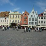 Tallinn main square - about 700m away