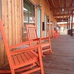 down-home porch