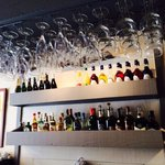 Le bar à alcool
