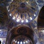 Vista de mosaicos da Basilica di San Marco