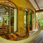 Hamanasi Treehouse porch
