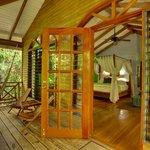 Hamanasi Treehouse porch