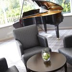 Piano in the Conservatory