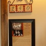 La Posada Doublemint Twins Room 240 Door Sign