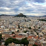 Views of Athens from Acropolis