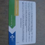 Tourist bus card