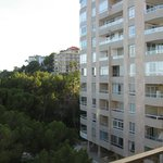 Apartments overlooking balcony